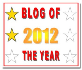 Blog of the Year Award 2 star