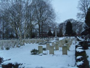 Snow Covered War Graves 2