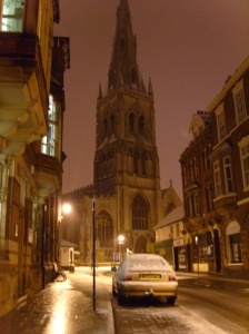 St Mary's In Snow 1