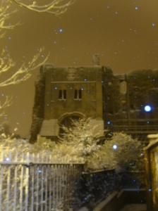 The Old Castle in Snow 3