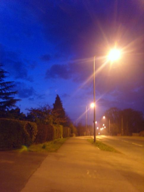 Morning In Street Lights