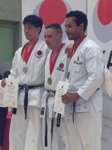 JKA England Medals