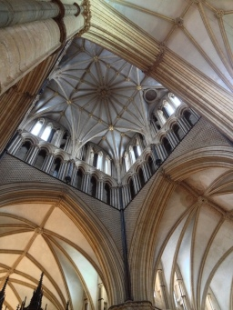 Inside The Central Tower - Lincoln Cathedral
