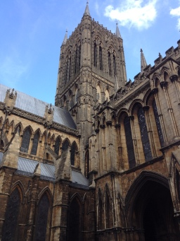 Outside The Central Tower - Lincoln Cathedral