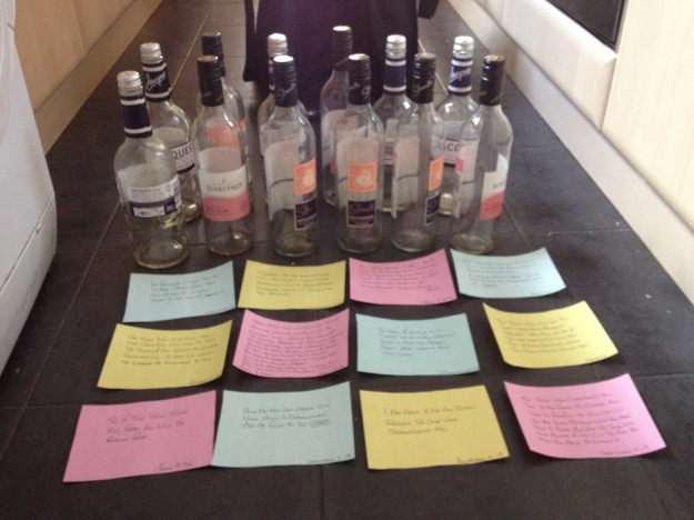 12 Verses For 12 Bottles