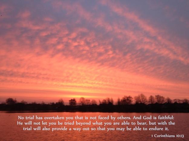 1 Corinthians 10:13