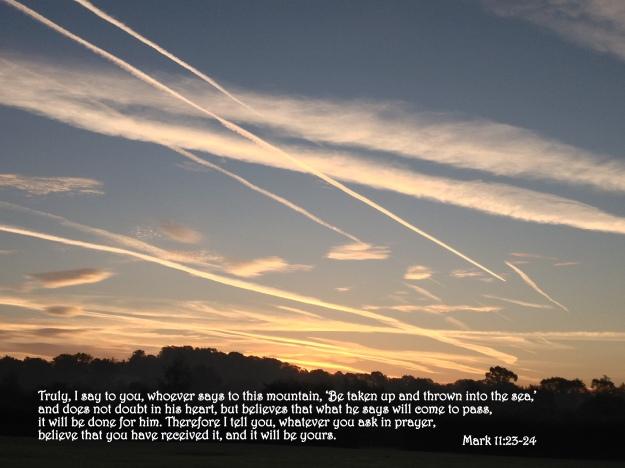 Mark 11:23-24