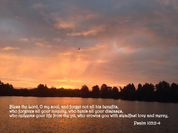 Psalm 103:2-4