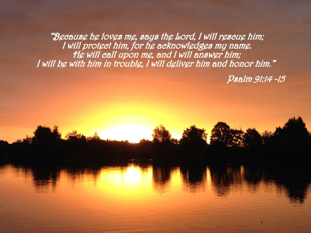 Psalm 91:14-15