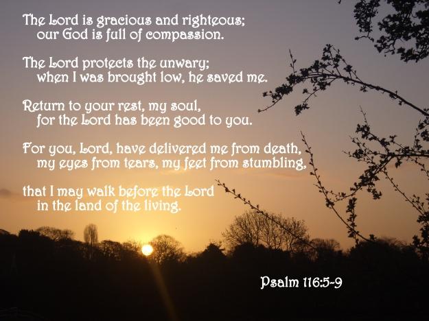 Psalm 116:5-9