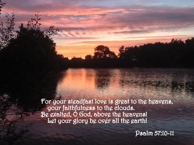 Psalm 57:10-11