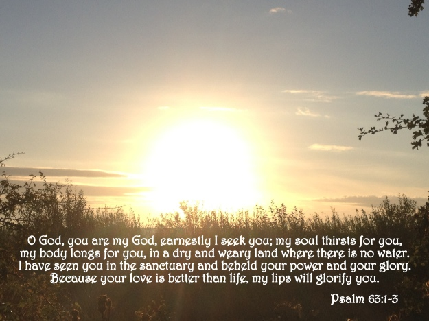 Psalm 63:1-3
