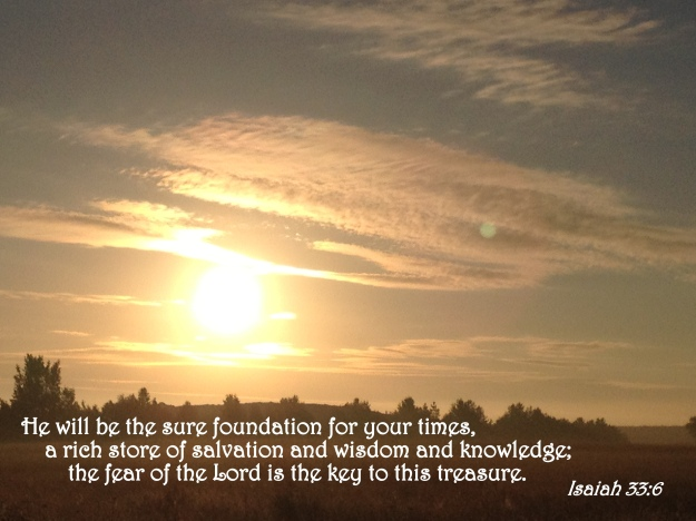 Isaiah 33:6