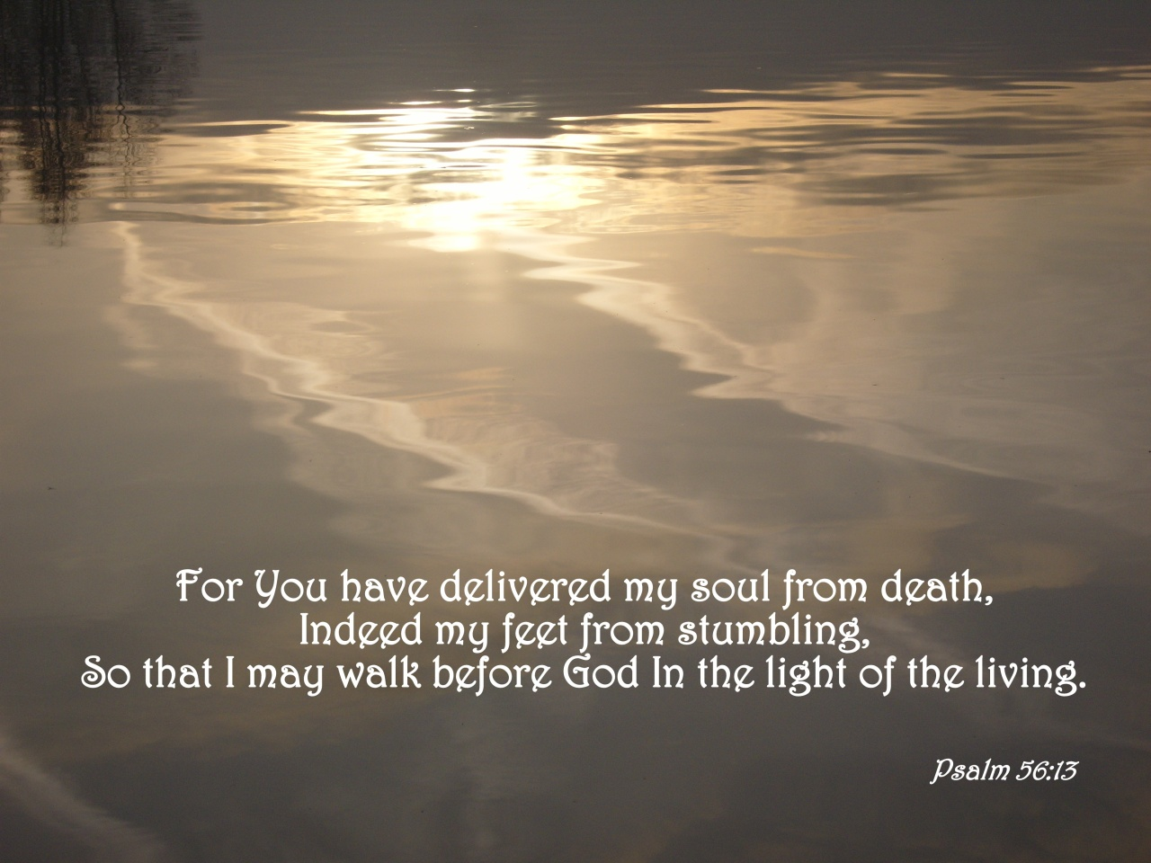 Image result for Psalm 56:13