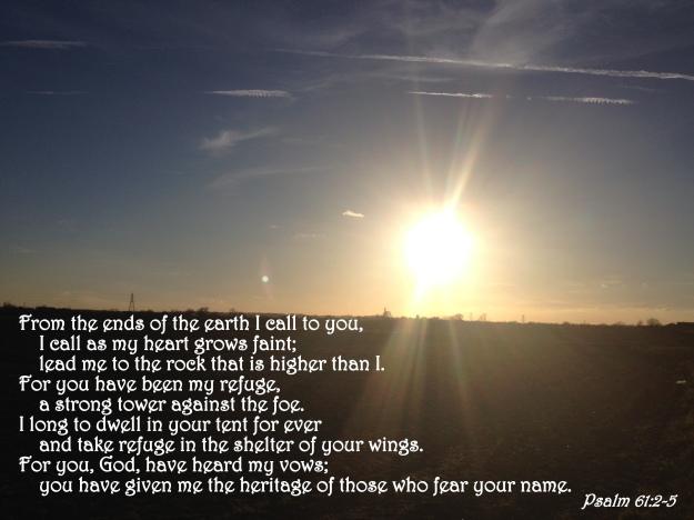 Psalm 61:2-5
