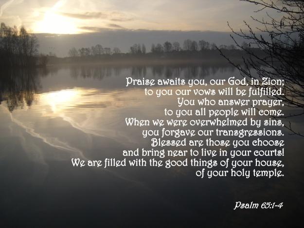 Psalm 65:1-4