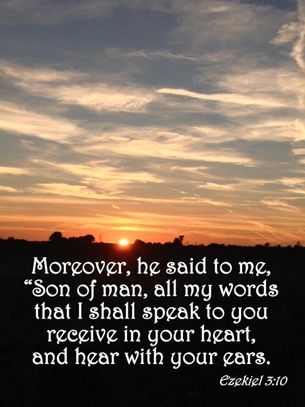 Ezekiel 3:10