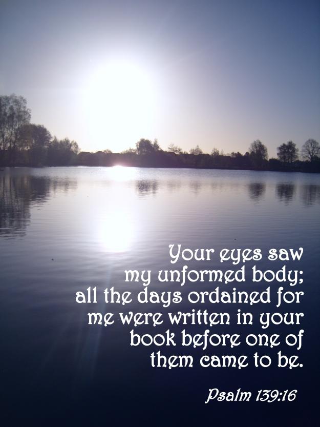 Psalm 139:16