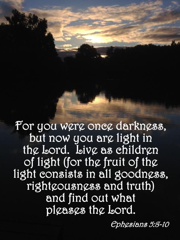 Ephesians 5:8-10