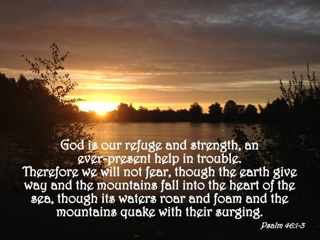 Psalm 46:1-3