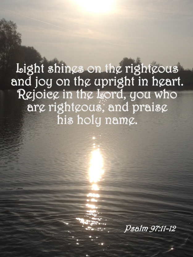 Psalm 97:11-12