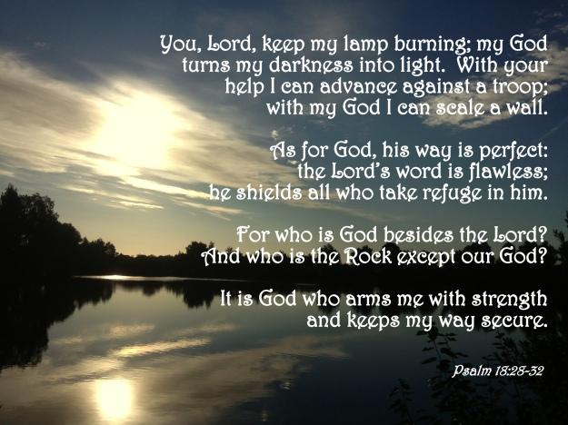 Psalm 18:28-32