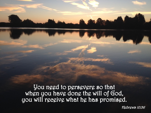 Verse of the Day – Hebrews 10:36 | The Bottom of a Bottle