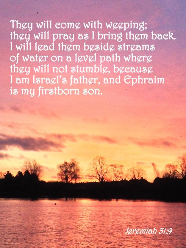 Jeremiah 31:9
