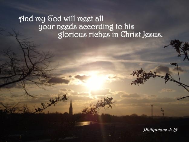 Philippians 4: 19