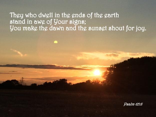 Psalm 65:8