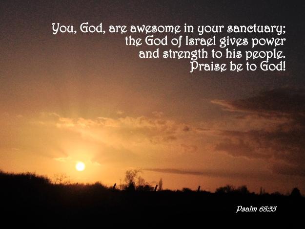 Psalm 68:35