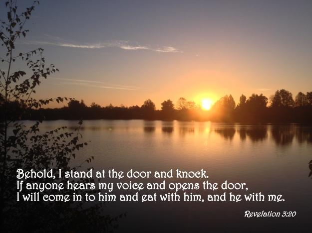Revelation 3:20