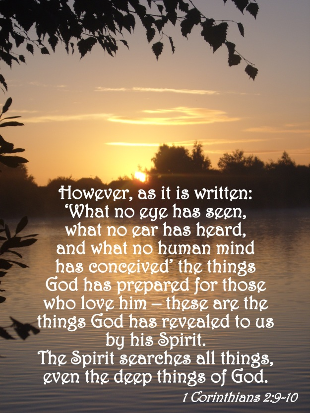 1 Corinthians 2:9-10