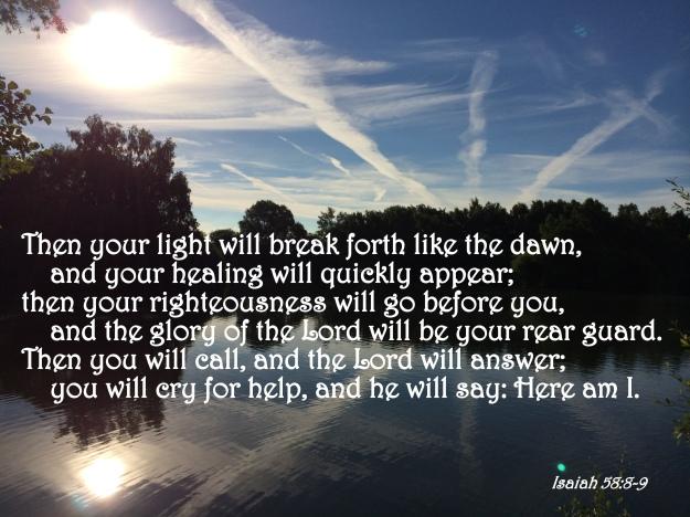 Isaiah 58:8-9