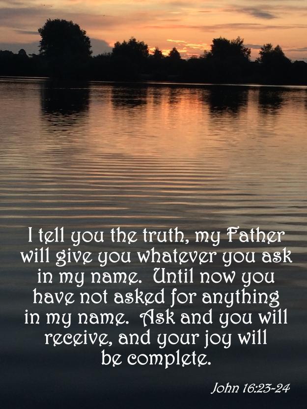 John 16:23-24