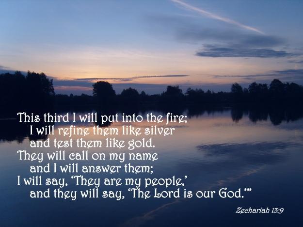 Zechariah 13:9