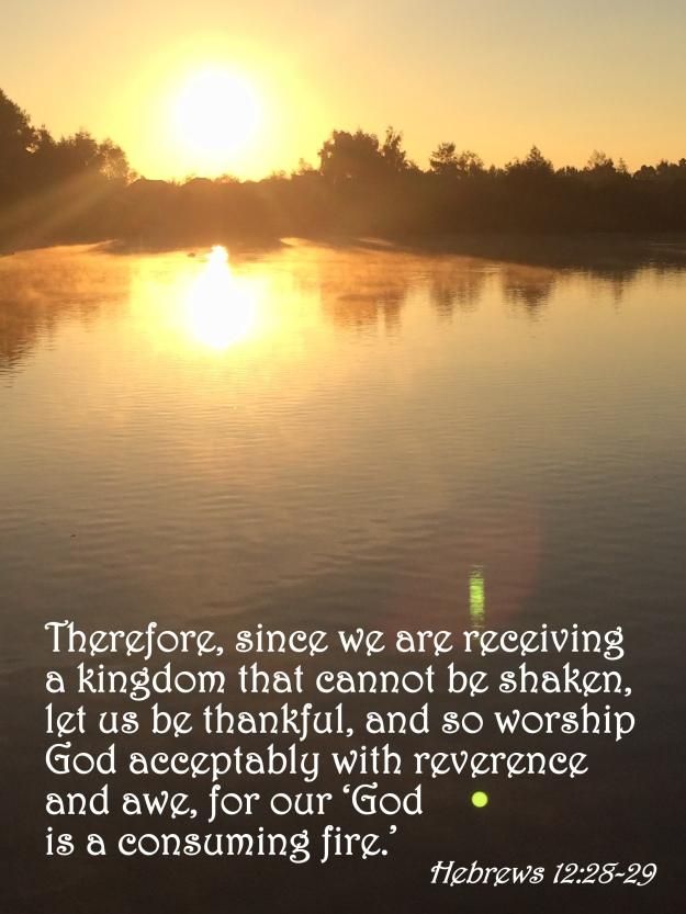 Hebrews 12:28-29