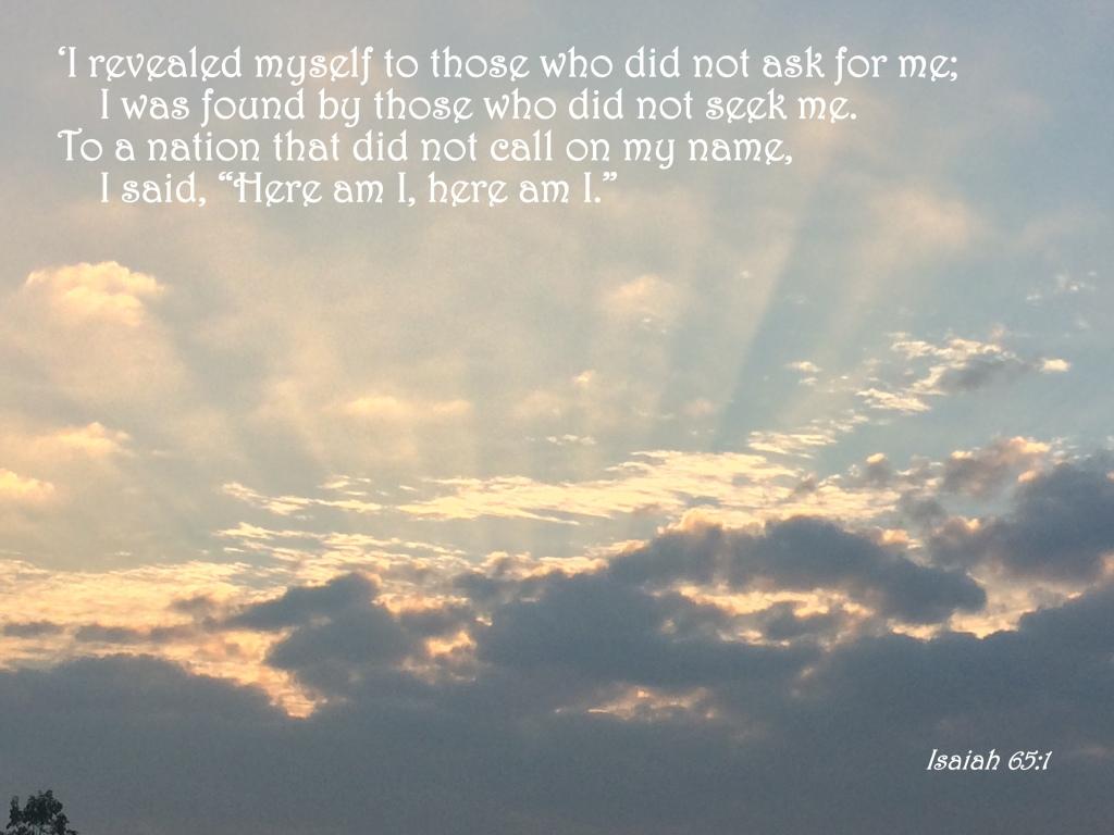 Isaiah 65:1