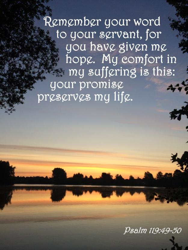 Psalm 119:49-50