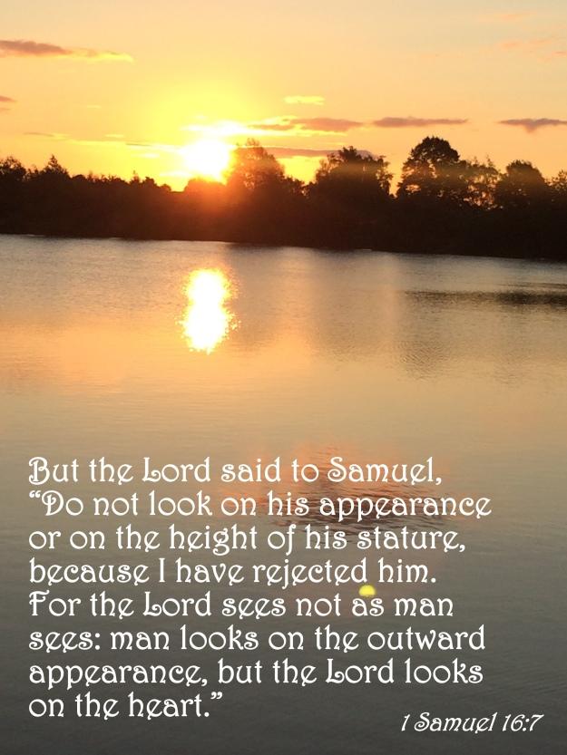 1 Samuel 16:7