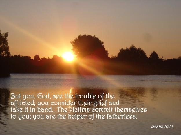 Psalm 10:14