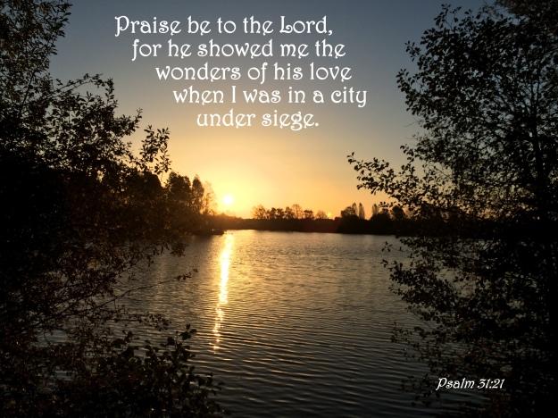 Psalm 31:21