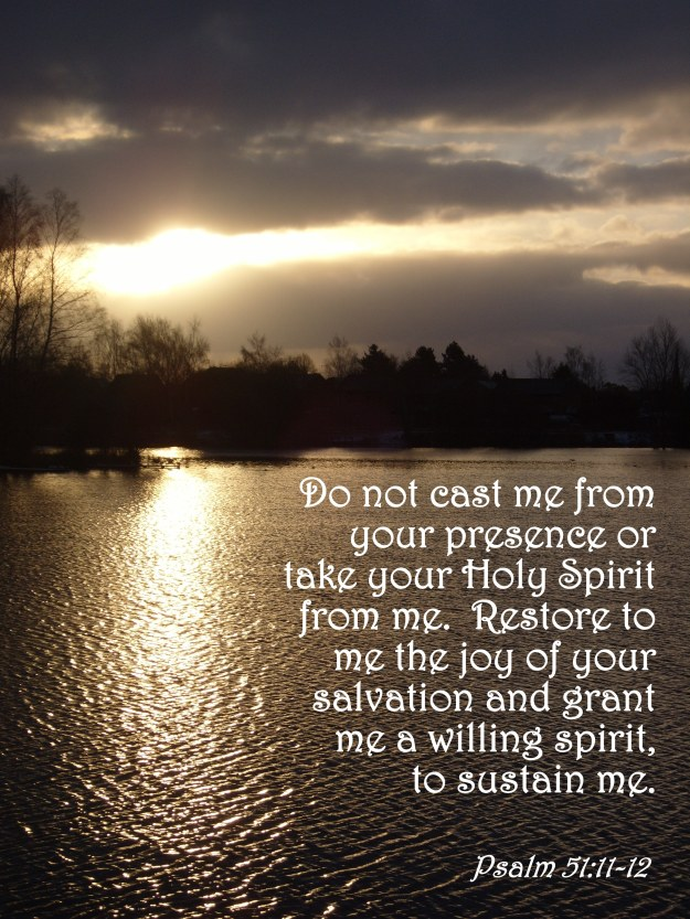 Psalm 51:11-12