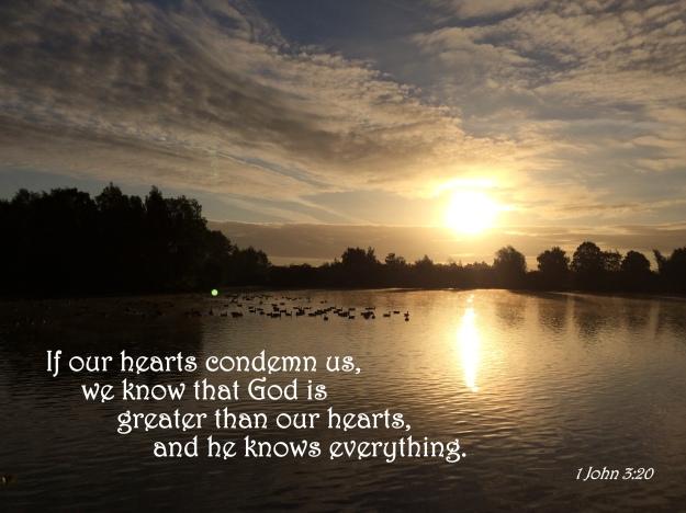 1 John 3:20