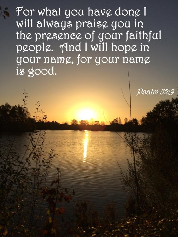 Psalm 52:9
