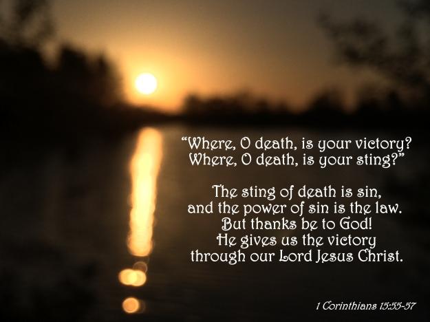 1 Corinthians 15:55-57