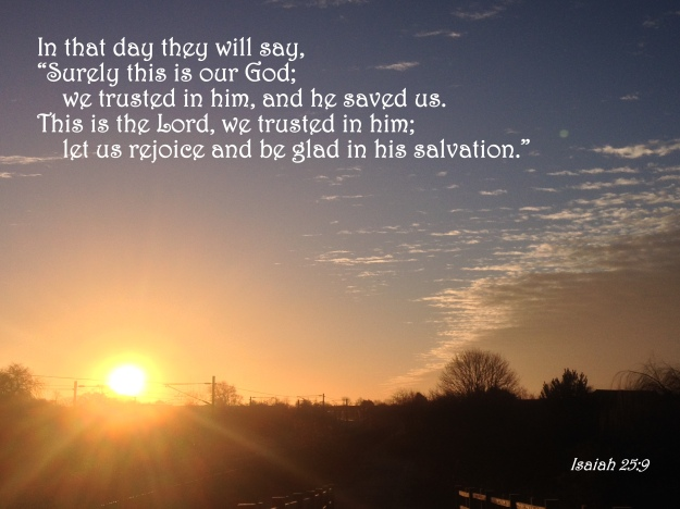Isaiah 25:9