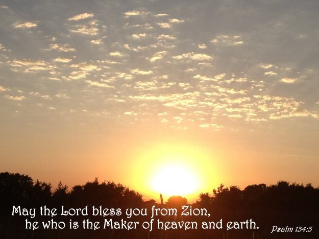 Psalm 134:3