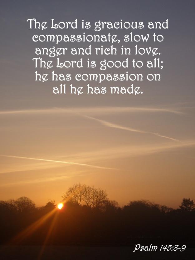 Psalm 145:8-9