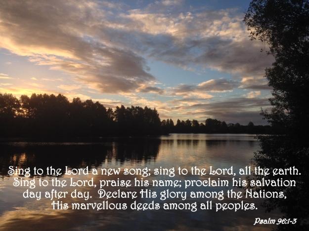 Psalm 96:1-3